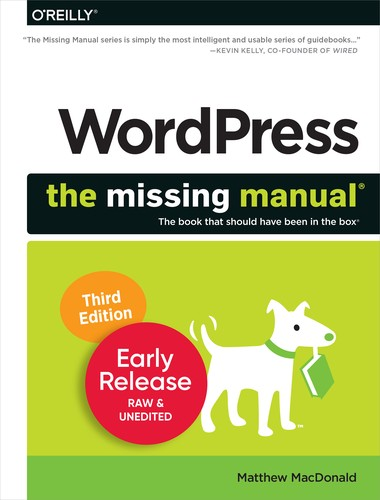 WordPress: The Missing Manual, 3rd Edition