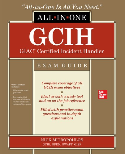 GCIH GIAC Certified Incident Handler All-in-One Exam Guide