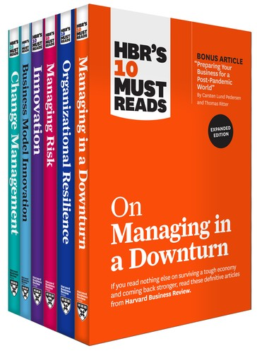 HBR's 10 Must Reads for the Recession Collection (6 Books)
