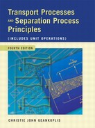 Transport Processes and Separation Process Principles (Includes Unit Operations) Fourth Edition