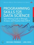 Programming Skills for Data Science: Start Writing Code to Wrangle, Analyze, and Visualize Data with R, First Edition
