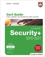 CompTIA® Security+ SY0-501 Cert Guide, Academic Edition, Second Edition