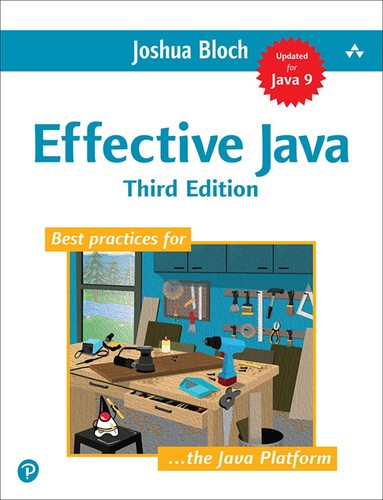 Cover image for Effective Java, 3rd Edition
