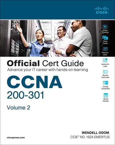 Cover image for CCNA 200-301 Official Cert Guide, Volume 2