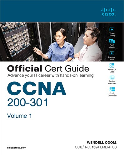 Cover image for CCNA 200-301 Official Cert Guide, Volume 1