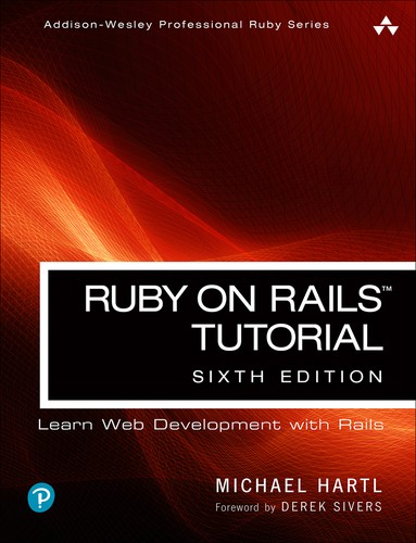 Cover image for Ruby on Rails Tutorial, 6th Edition