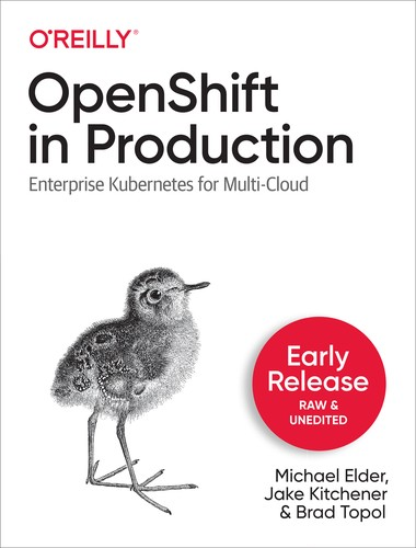 Cover image for OpenShift in Production