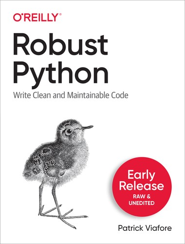 Cover image for Robust Python