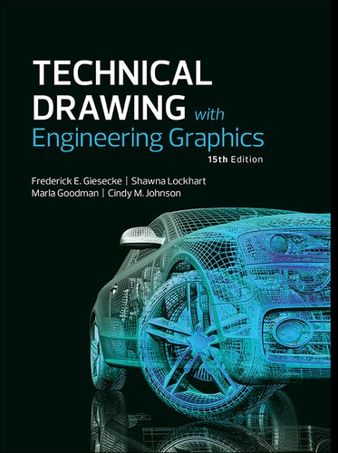 Cover image for Technical Drawing with Engineering Graphics, Fifteenth Edition