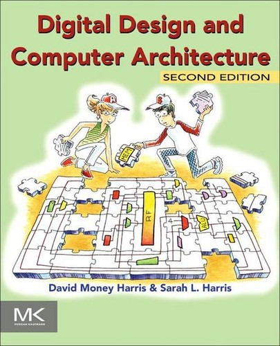 Cover image for Digital Design and Computer Architecture, 2nd Edition