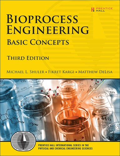 Cover image for Bioprocess Engineering: Basic Concepts, 3rd Edition