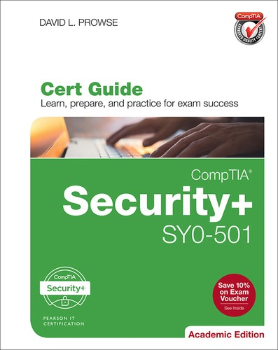 Cover image for CompTIA® Security+ SY0-501 Cert Guide, Academic Edition, Second Edition