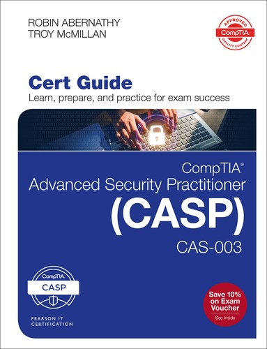Cover image for CompTIA Advanced Security Practitioner (CASP) CAS-003 Cert Guide, Second Edition