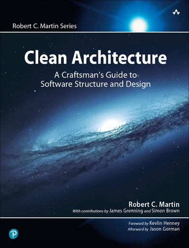 Cover image for Clean Architecture: A Craftsman's Guide to Software Structure and Design, First Edition